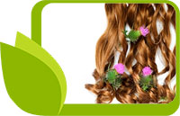 Красива и подсилена коса с корен от репей