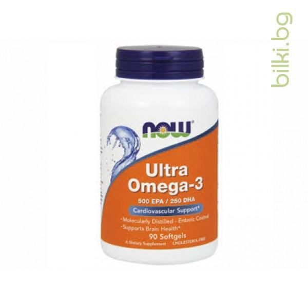 ултра омега-3,рибено масло,ultra omega-3,now foods