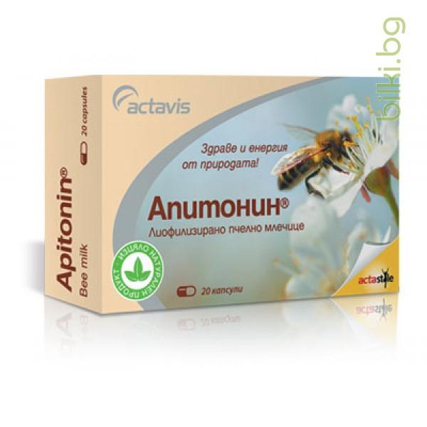 АПИТОНИН капс. 60 мг. - ACTAVIS