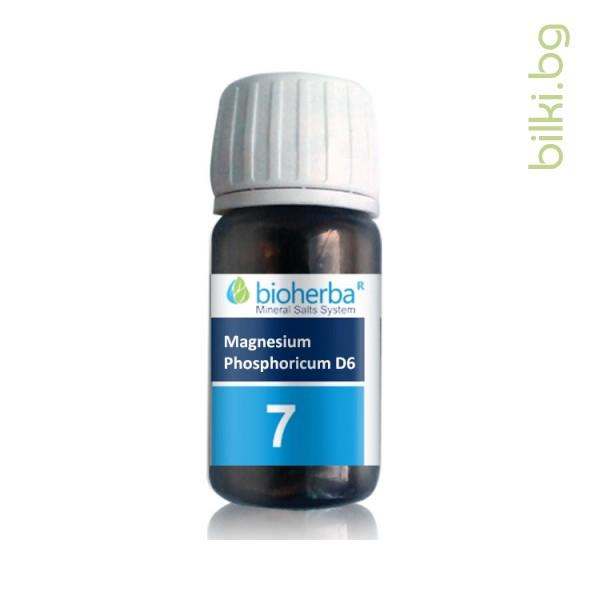шуслерова сол, сол №7 magnesium phosphoricum d6, магнезиум фосфорикум