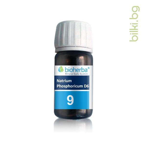шуслерова сол, сол №9, natrium phosphoricum d6, натриум фосфорикум