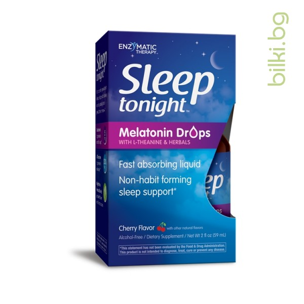 sleep,tonight,мелатонин,л-леанин,билки,enzymatic,therapy
