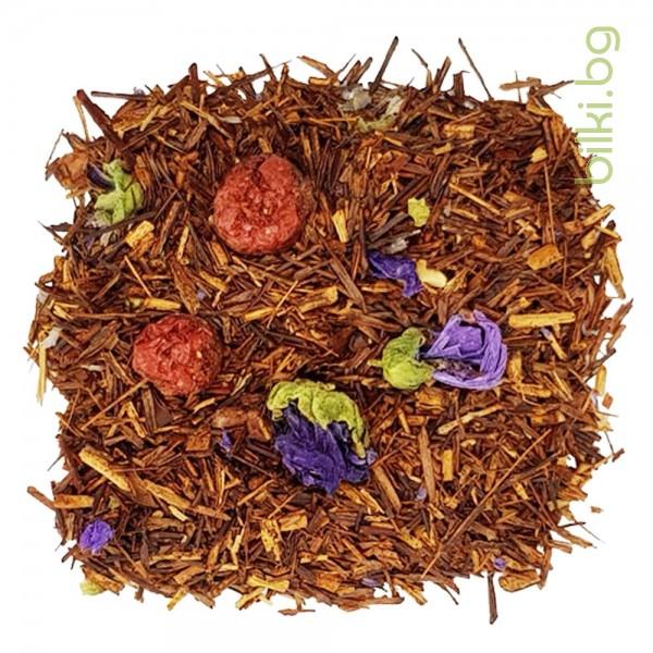 чай ройбос с нар и грозде,  веда чай, гурме чай