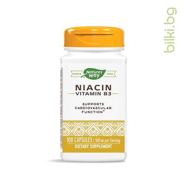 ниацин, nature's way, нервна система, метаболизъм