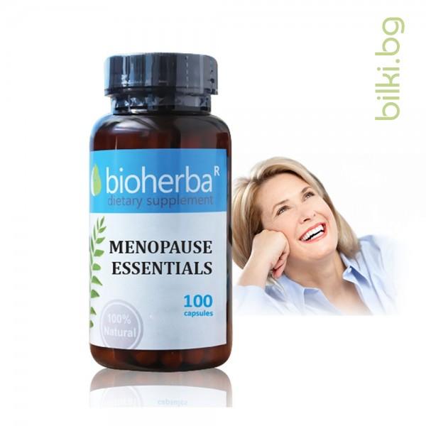 menopause essentials,формула,менопауза, месечен менструален дискомфорт