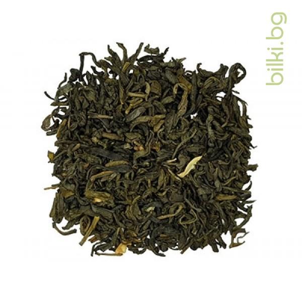 веда, китайски жасмин, жасмин, бял чай, зелен чай