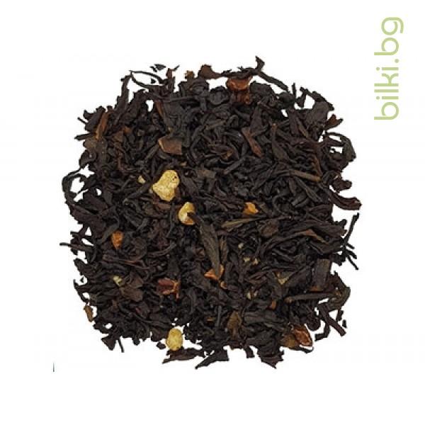 веда, крем карамел, черен чай