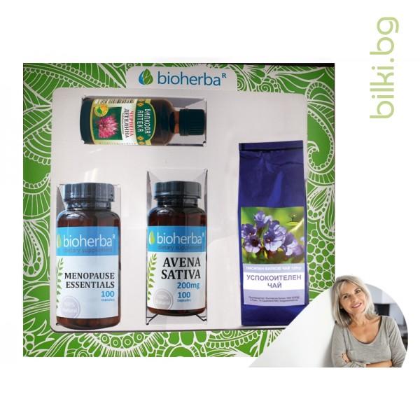 пакет, bioherba,менопауза, климакс, билкова формула, менопауза