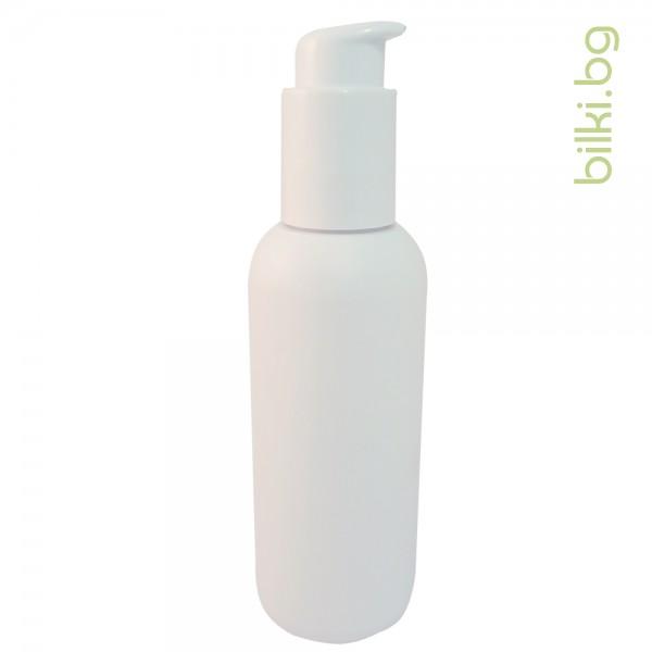 пластмасова бутилка, бутилка, пулверизатор, капачка, бял