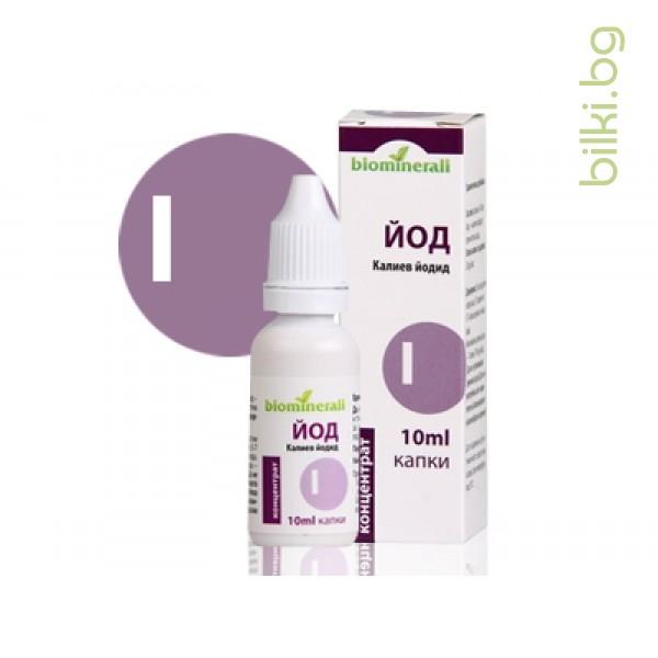 йод биоминерали, йод, йод за пиене,йодна тинктура,йод за здрави нокти