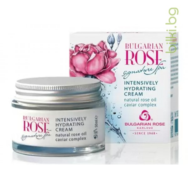 интензивно хидратиращ крем, bulgarian rose