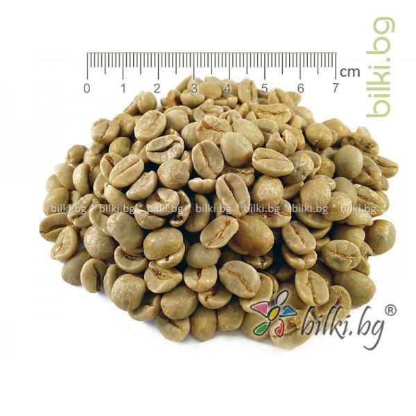 зелено кафе на зърна, сурово кафе, арабика
