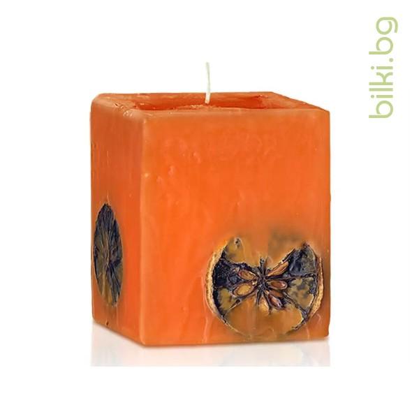 свещ парфюмна портокал шоколад