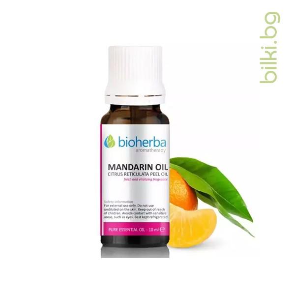 мандариново масло, биохерба