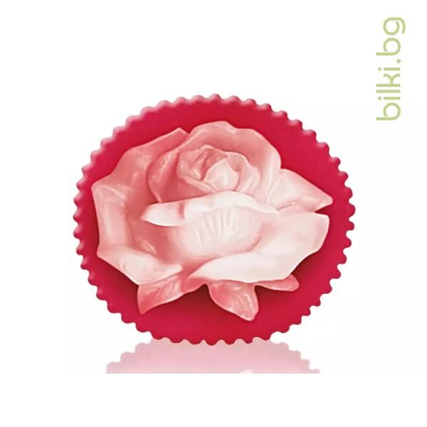 глицеринов сапун, rose fantasy, розова долина,розов цвят,червен