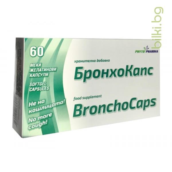 бронхокапс капсули, фитофарма