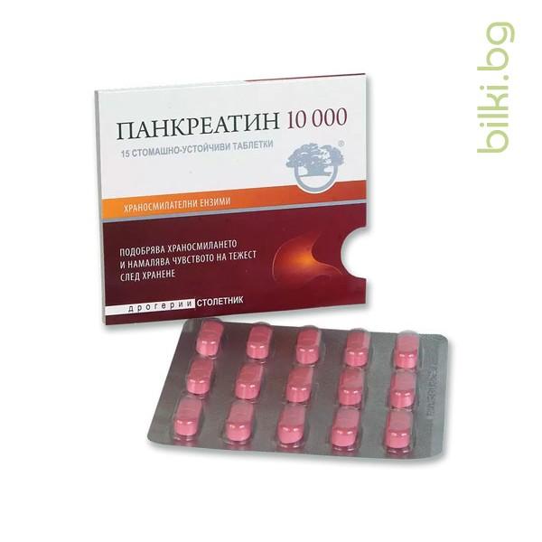 панкреатин 10000, никсен