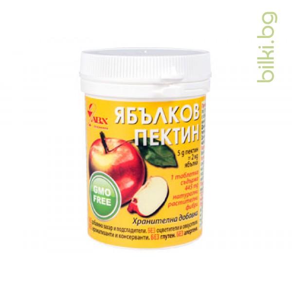 ЯБЪЛКОВ ПЕКТИН (таблетки), 60 таб, ХИМАКС