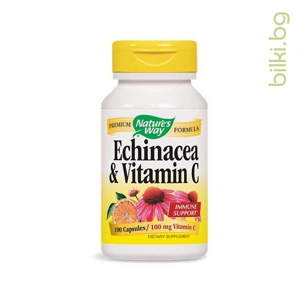 ехинацея и витамин - с