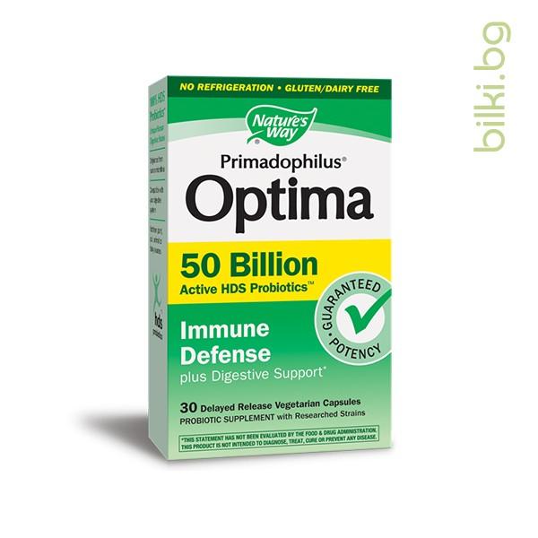 примадофилус оптима, immune defense