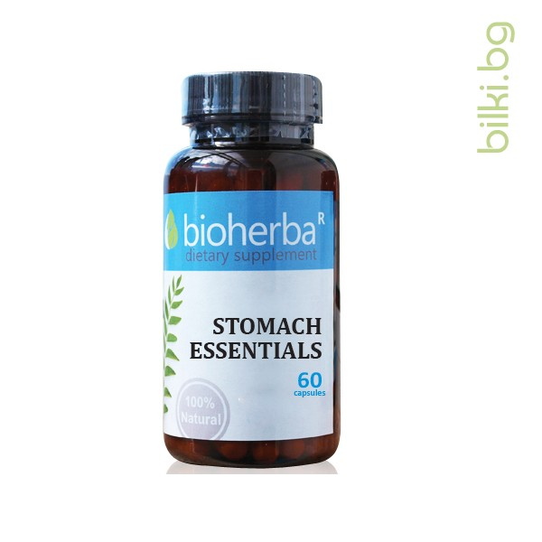 STOMACH ESSENTIALS 60  CAPSULES/ ФОРМУЛА ЗА СТОМАХА 60 КАПСУЛИ