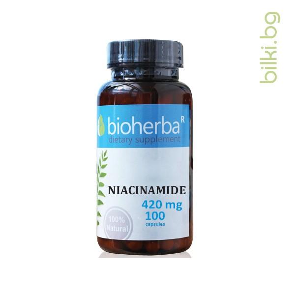 ниацинамид, биохерба, ниацинамид цена, ниацинамид кожа