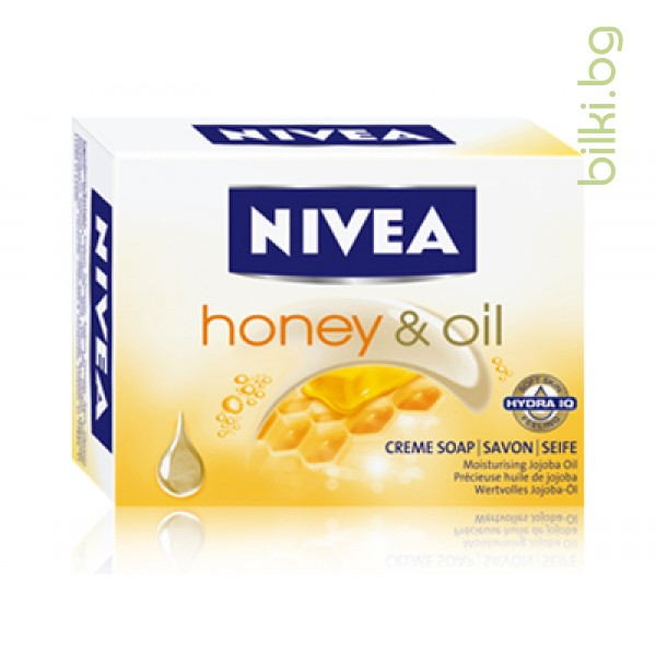 NIVEA САПУН HONEY & OIL,100гр