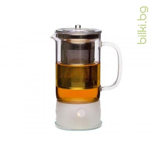 SIGN чайник 1.2 л с мет.филтър и подгревател -Йена