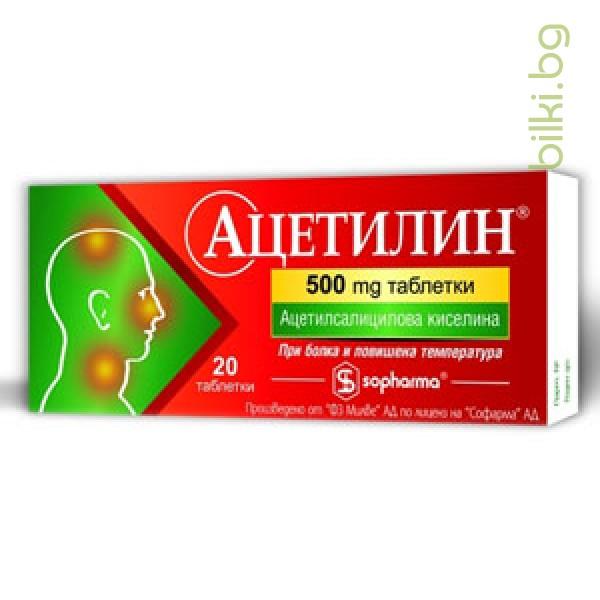 АЦЕТИЛИН - против простуда