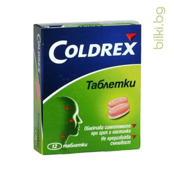 КОЛДРЕКС - при грип и настинка