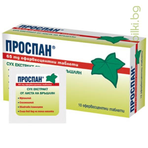 ПРОСПАН 65 мг.- облекчава кашлицата