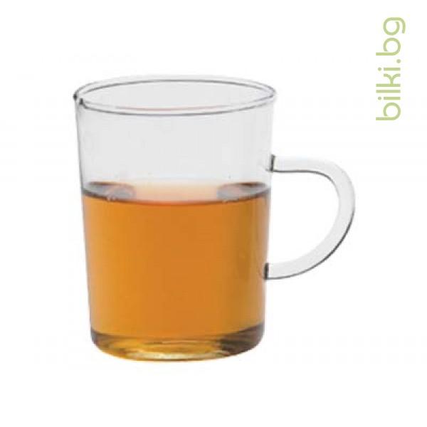 Чаша за чай с дръжка, конична, 0,22 л - Йена Глас