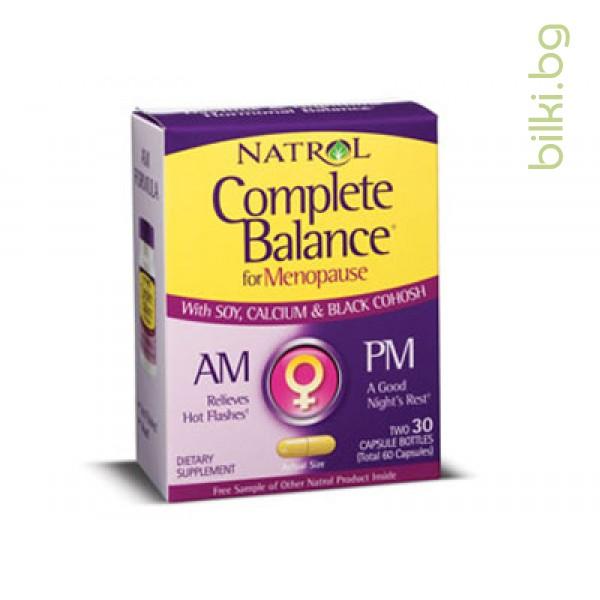 менопауза AM / PM,пълен баланс