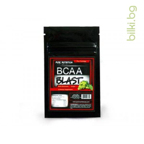 bcaa blast double dose grape, аминокиселини