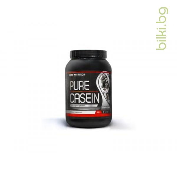 pure casein, 908 гр, протеини