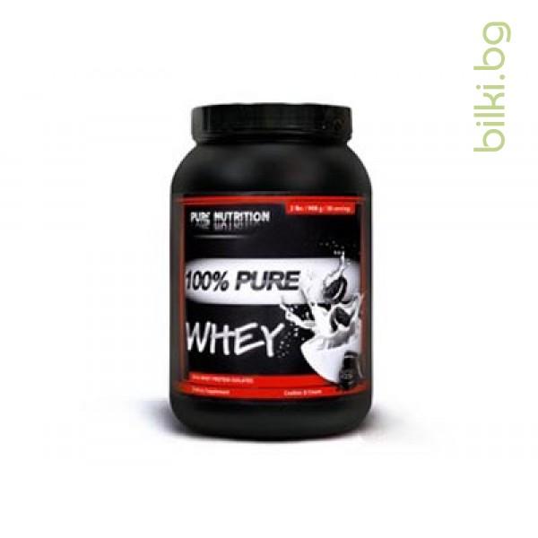 pure whey 908 гр, протеини