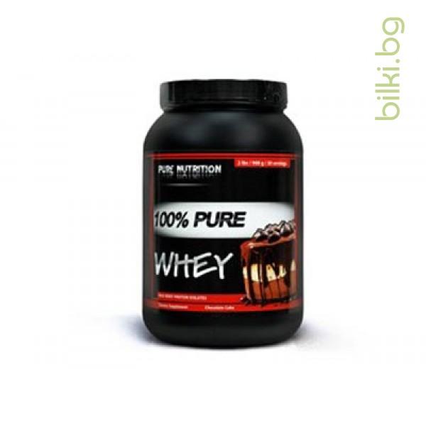 pure whey chocolate cake, протеини