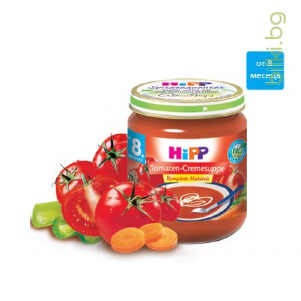 хип био супа крем доматена