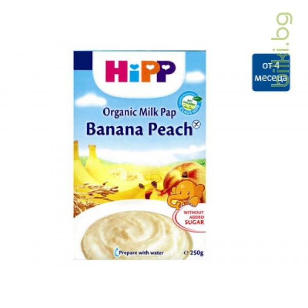 хип инстантна каша банани и праскови