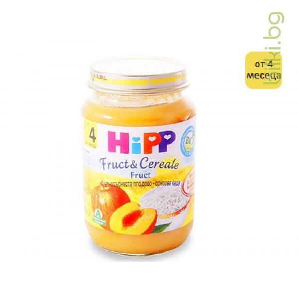 хип каша пълнозърнеста плодово-оризова