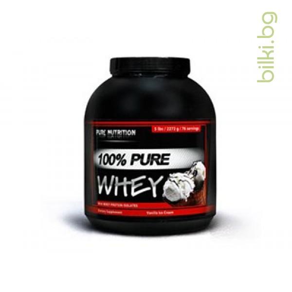 pure whey vanilla, протеини