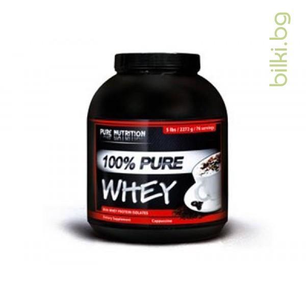 pure whey cappuccino, протеини