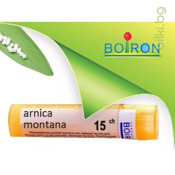 арника, arnica montana, ch 15, боарон