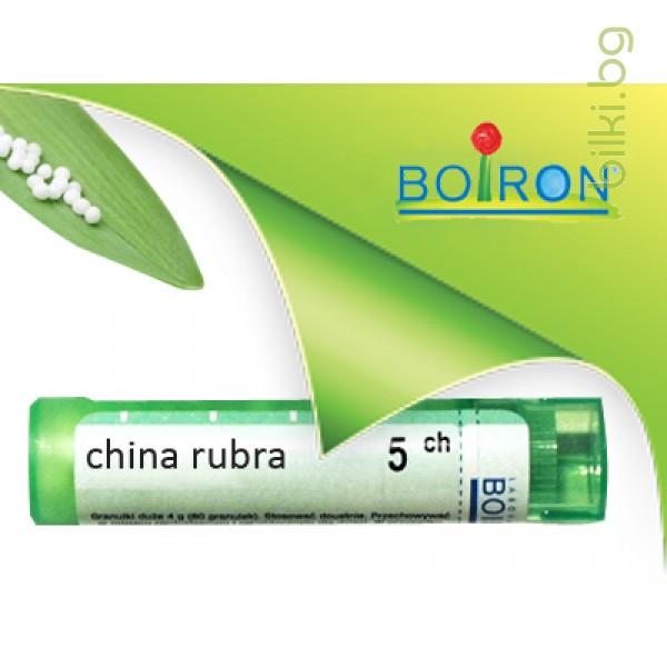 china rubra, boiron