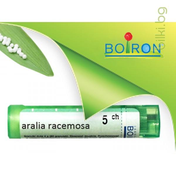 aralia racemosa, boiron