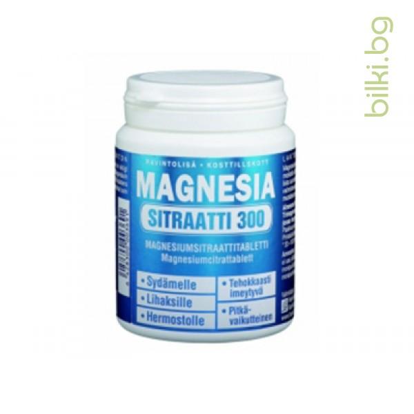 магнезиев цитрат, 160 таб, лечител