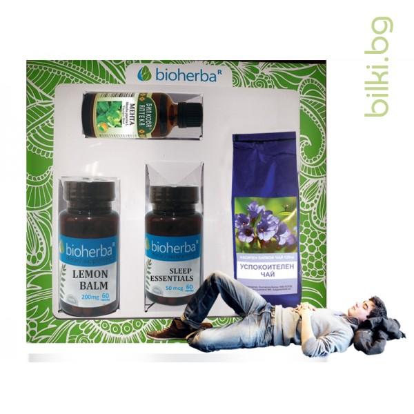 пакет, bioherba,подкрепа на съня, сън, формула за сън