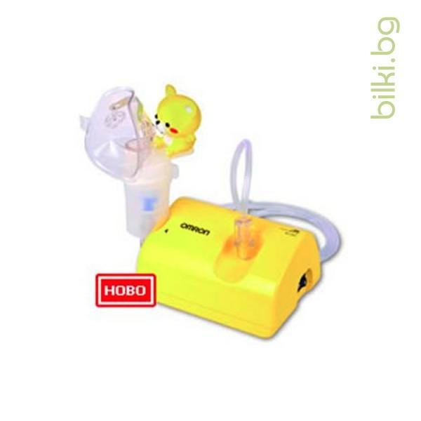 omron, ne-c801kd, инхалатор, респираторна терапия
