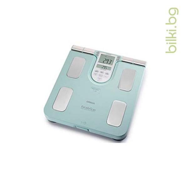 omron, bf 511t-e, апарат, измерване на мазнините, мазнините в организма, мазнини