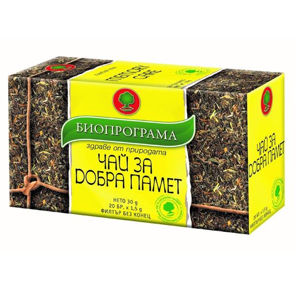 чай гинкозен, биопрограма